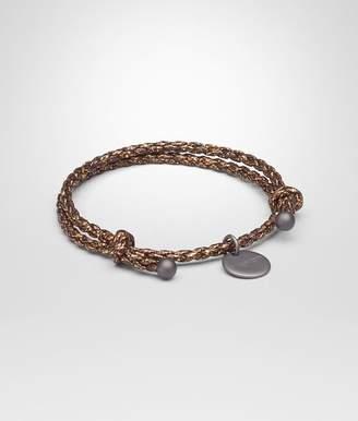 Bottega Veneta Oro Scuro Calf Bracelet