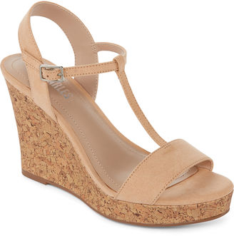 STYLE CHARLES Style Charles Laura Womens Wedge Sandals $60 thestylecure.com