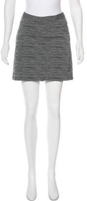 Humanoid Woven Mini Skirt