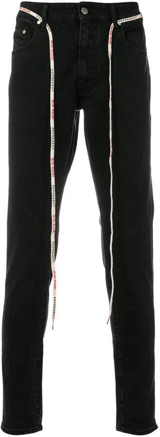 Represent Klassische Skinny-Jeans