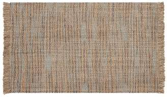 Pottery Barn Lucas Natural Fiber Rug - Blue
