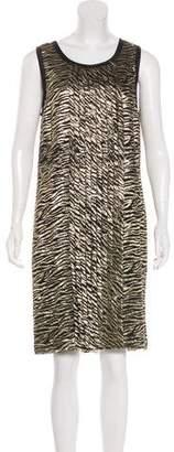 Michael Kors Metallic Silk Dress w/ Tags