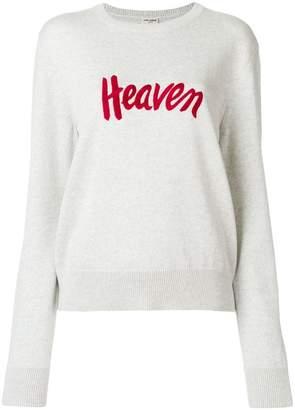 Saint Laurent Heaven knitted jumper