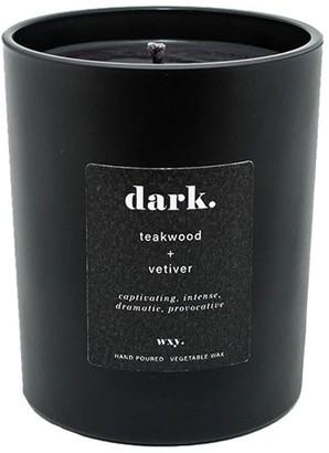 Wxy. Dark Candle Teakwood & Vetiver