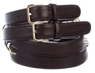 Valentino multi strap waist belt