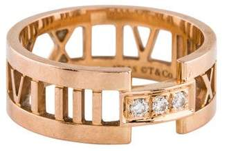 Tiffany & Co. 18K Diamond Atlas Ring