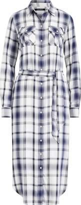 Ralph Lauren Plaid Herringbone Shirtdress