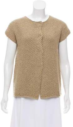 Pauw Metallic Sleeveless Sweater