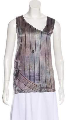 Zero Maria Cornejo Silk Printed Top
