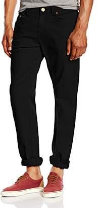 True Religion Men's Geno Overdyed Cotton Twill Trousers