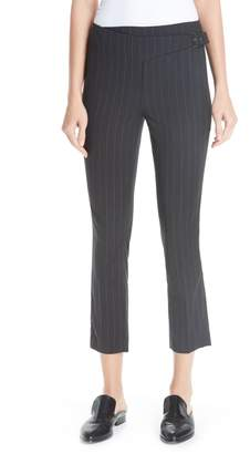 BA&SH Bango Pinstripe Crop Trousers