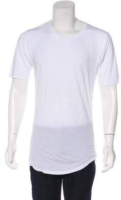 Alexandre Plokhov Woven Crew Neck T-Shirt