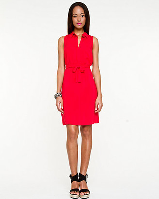Le Château Challis Sleeveless Shirtdress