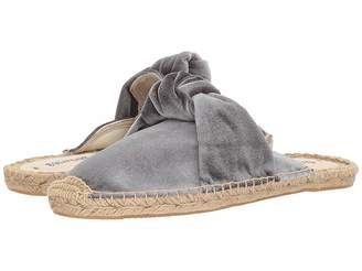 Soludos Knotted Velvet Mule Women's Clog/Mule Shoes