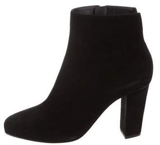 Giuseppe Zanotti Suede Round-Toe Ankle Boots w/ Tags