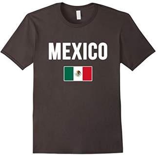 Mexico T-shirt Mexican Flag .