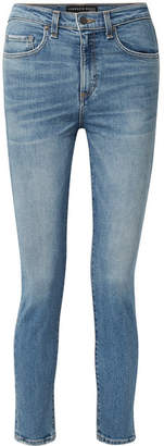 Veronica Beard Faye High-rise Skinny Jeans - Blue