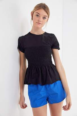 Truly Madly Deeply Smocked Peplum Tee