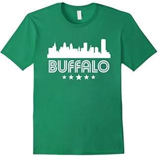 Buffalo David Bitton New York Skyline Retro Style T-Shirt