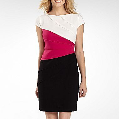 JCPenney Sheath Dress - Petite