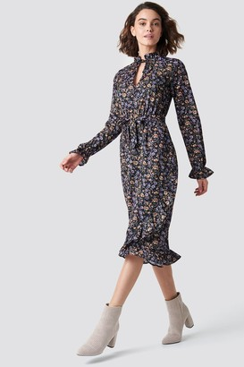 Rut & Circle Rut&Circle Maxi Flower Dress Flower Print