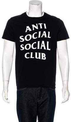 Anti SocialSocial Club Short Sleeve Logo T-Shirt