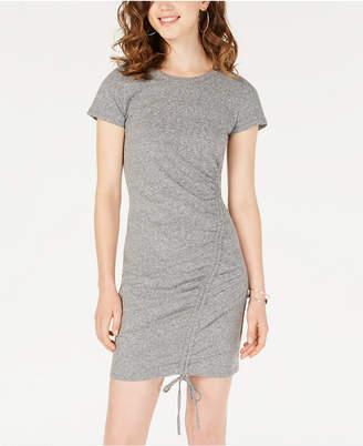 Material Girl Juniors' Ruched T-Shirt Dress