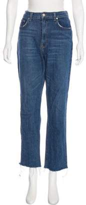 Reformation High-Rise Straight-Leg Jeans