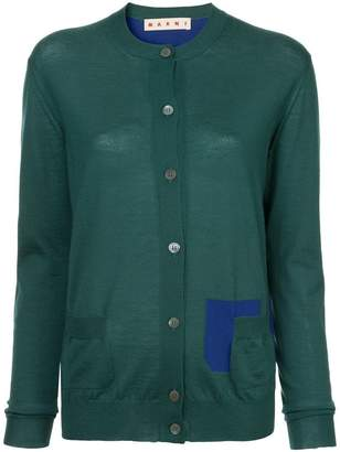 Marni longsleeved buttoned up cardigan
