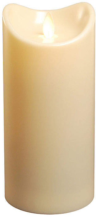 Battery Operated Pillar Candle with Moving Flame (7)