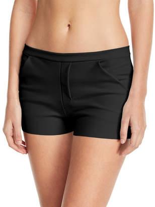 Chiara Boni Alama Coverup Shorts