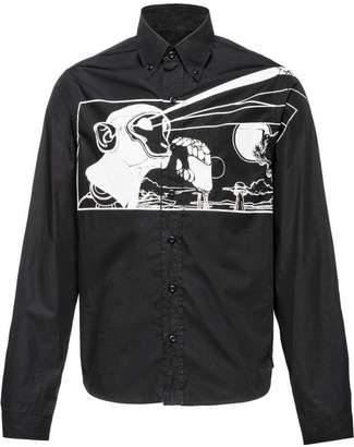 Prada monochrome printed shirt