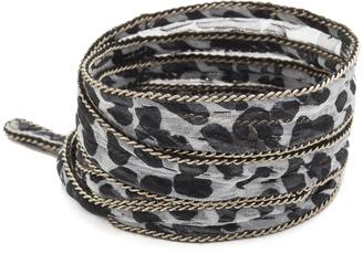 Chan Luu Printed Convertible Wrap Bracelet $45 thestylecure.com