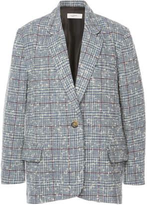 Etoile Isabel Marant Korix Checked Wool-Blend Blazer