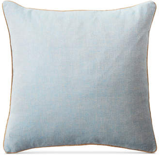 "Lauren Ralph Lauren Kelsey Cross-Dyed 20"" Square Decorative Pillow Bedding"