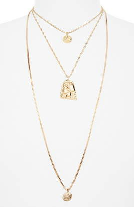 BP Layered Coin Necklace