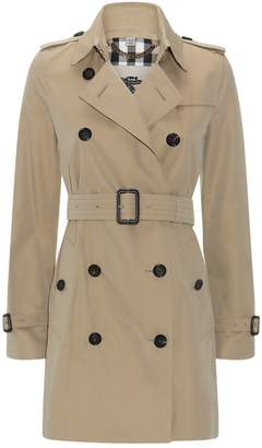 Burberry The Kensington Mid-Length Heritage Trench Coat