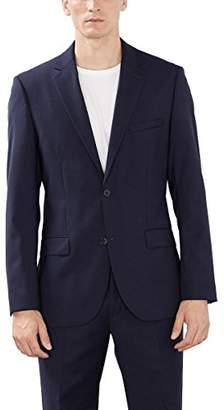 Esprit Men's 993EO2G902 Long Sleeve Suit Jacket,(Manufacturer Size:50)