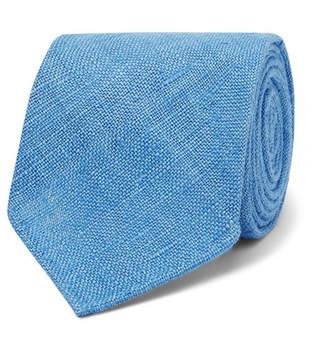 Drakes Drake's 8cm Slub Silk Tie