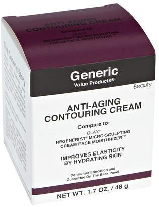 Olay Generic Value Products Anti-Aging Contouring Cream Compare to Regenerist Micro-Sculpting Cream Face Moisturizer