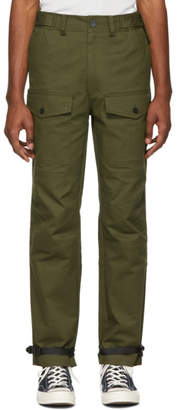 Stolen Girlfriends Club Green Barry Battler Cargo Trousers