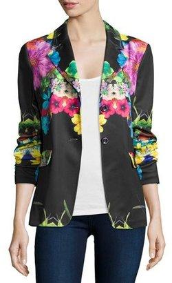 Berek Flower Pop Two-Button Jacket, Plus Size $268 thestylecure.com