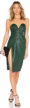h:ours Doria Leather Dress