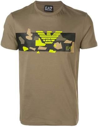 Emporio Armani Ea7 printed T-shirt