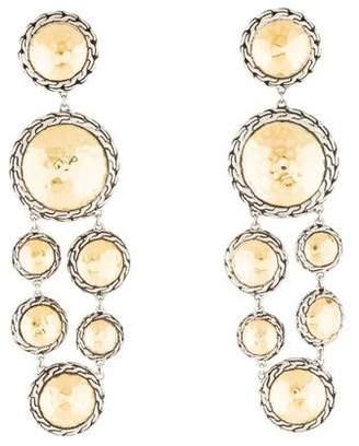 John Hardy Two-Tone Palu Chandelier Earrings