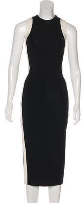 David Koma Sleeveless Midi Dress