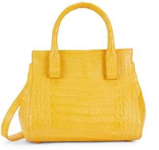 Nancy Gonzalez Crocodile Leather Top Handle Bag