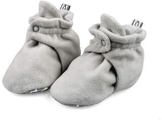 The Peanut Shell Fleece Booties Unisex Slip-On Shoe