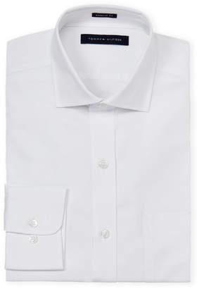 Tommy Hilfiger Regular Fit Twill Long Sleeve Dress Shirt