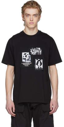 Misbhv Black Multi Patch T-Shirt